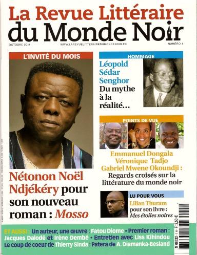La revue du monde noire_Couv
