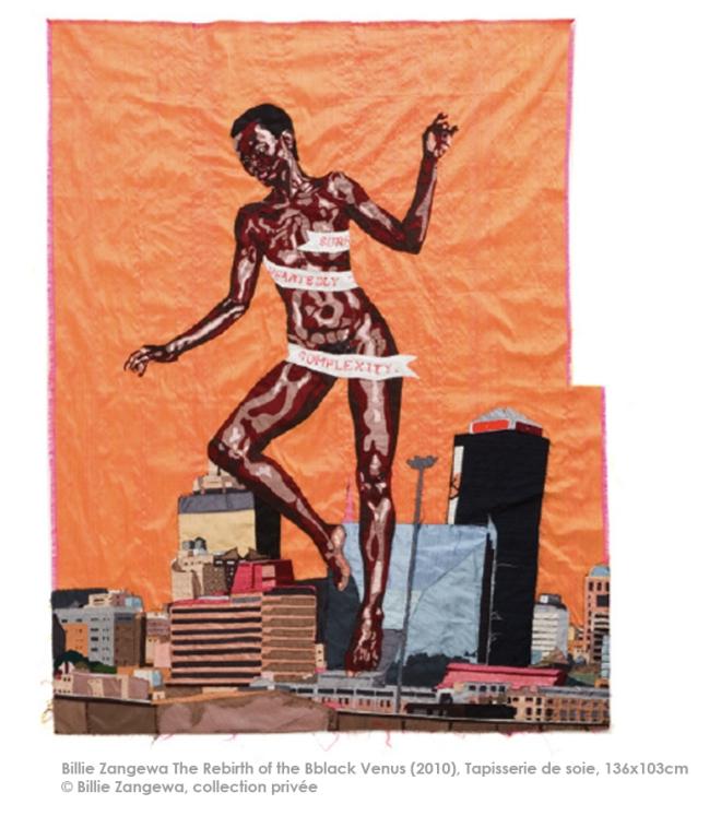 Billie Zangewa The rebirth of the black Venus