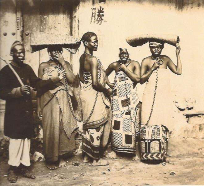 Zanzibar,Chain-gang.Aug25th1896