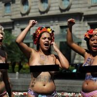 La révolte aux seins nus