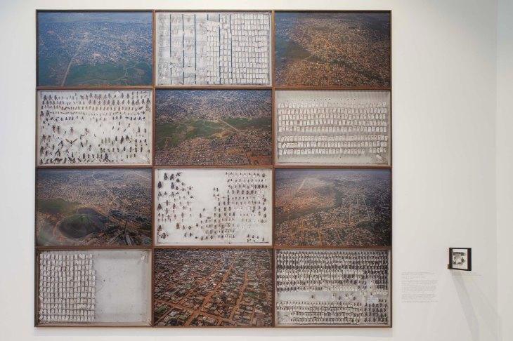 Sammy Baloji_Essay on Urban Planning, 2013 at Belgian Pavilion at La Biennale di Venezia 56th International Art Exhibition _Courtesy the artist and Galerie Imane Farès, Paris.Photo Alessandra Bello_2
