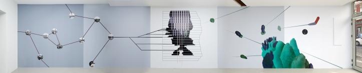 1 Otobong Nkanga - Comot Your Eyes Make I Borrow You Mine - 2015 - Wall Drawing - Kadist Art Foundation Paris