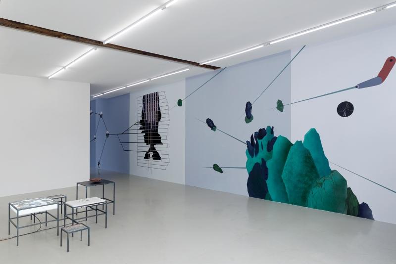 4 Otobong Nkanga - Comot Your Eyes Make I Borrow You Mine - Exhibition View - 2015 - Kadist Art Foundation Paris