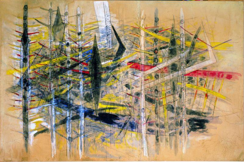 Sans titre 1958 la Brousse coll particuliäre courtesy Galerie Gmurzynska Adagp Paris 2015