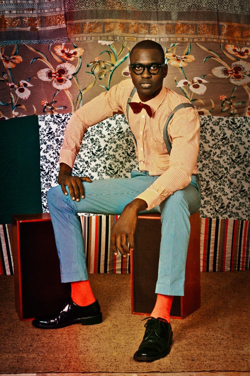 Le face à  face de Malick Sidibé et d'Omar Victor Diop à la Galerie Agnès b