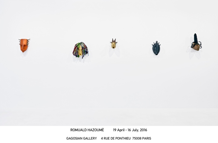 Romuald Hazoumè_Paris 2016_install 03
