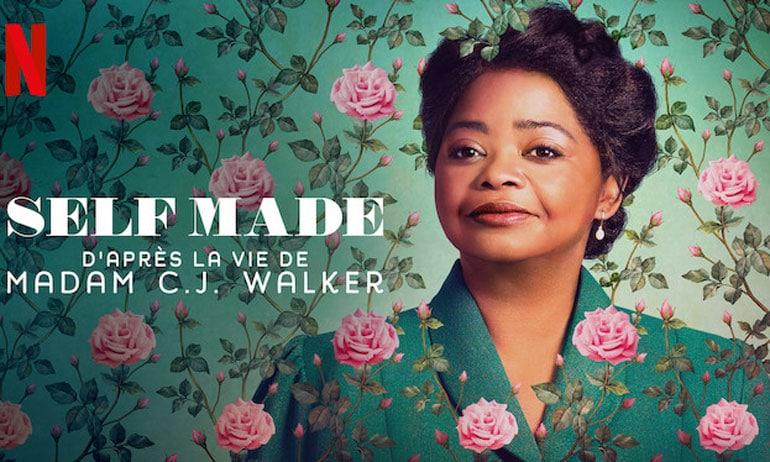 Affiche de la série Self Made sur Netflix